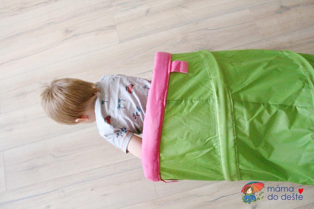 Recenze: Dětský tunel na prolézání a hraní BUSA z IKEA