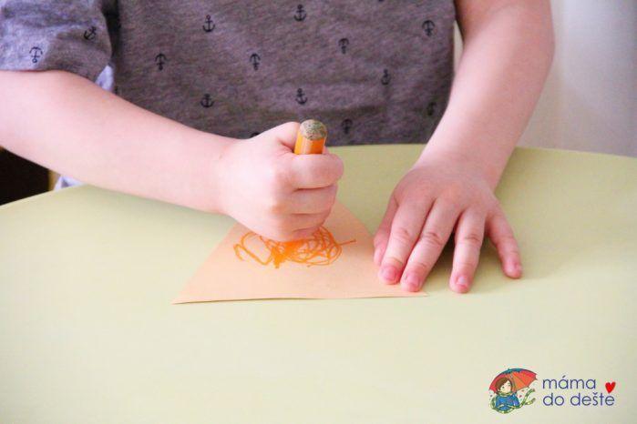 Papírové zmrzliny jako obrázek i dekorace do pokojíčku