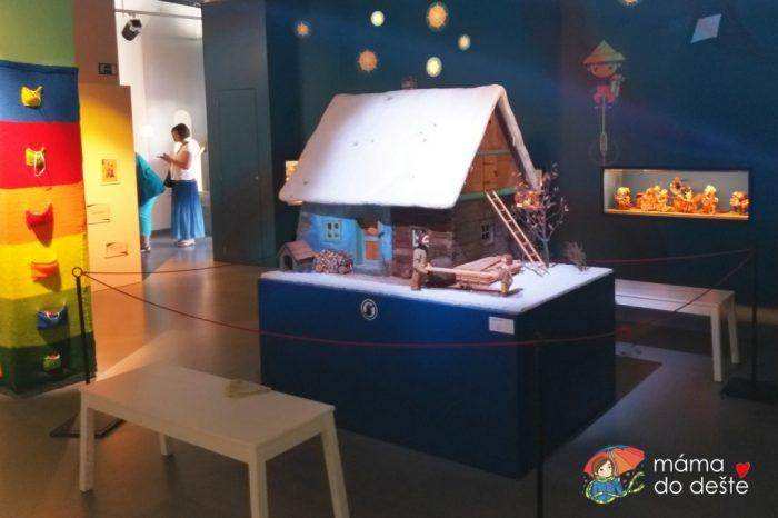 Interaktivní výstava pro děti Večerníček v České televizi