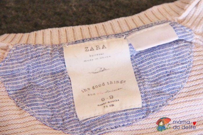 Dětské oblečení Zara