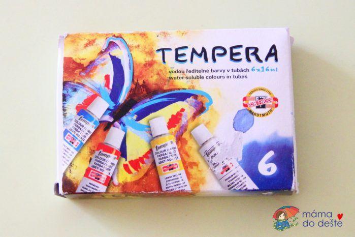 Temperové barvy Koh-i-Noor (16 ml)