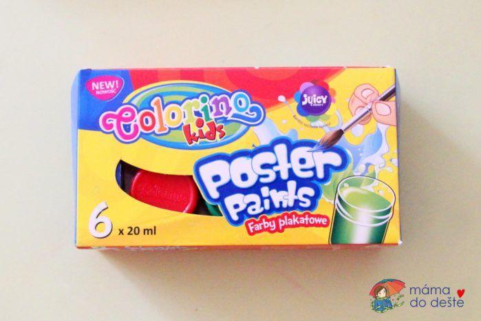Temperové barvy(poster paints) Colorino 20 ml