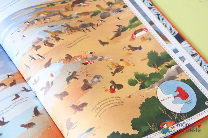 Recenze dětské knihy Atlas dobrodružství: Zvířata