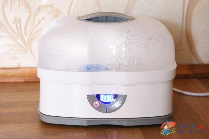 Digitální parní sterilizátor Chicco 3v1: Verze Compact