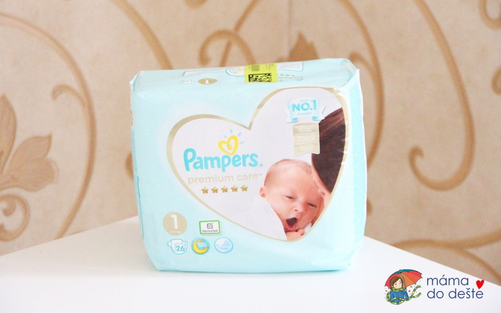 Recenze plenek Pampers Premium Care (2020)