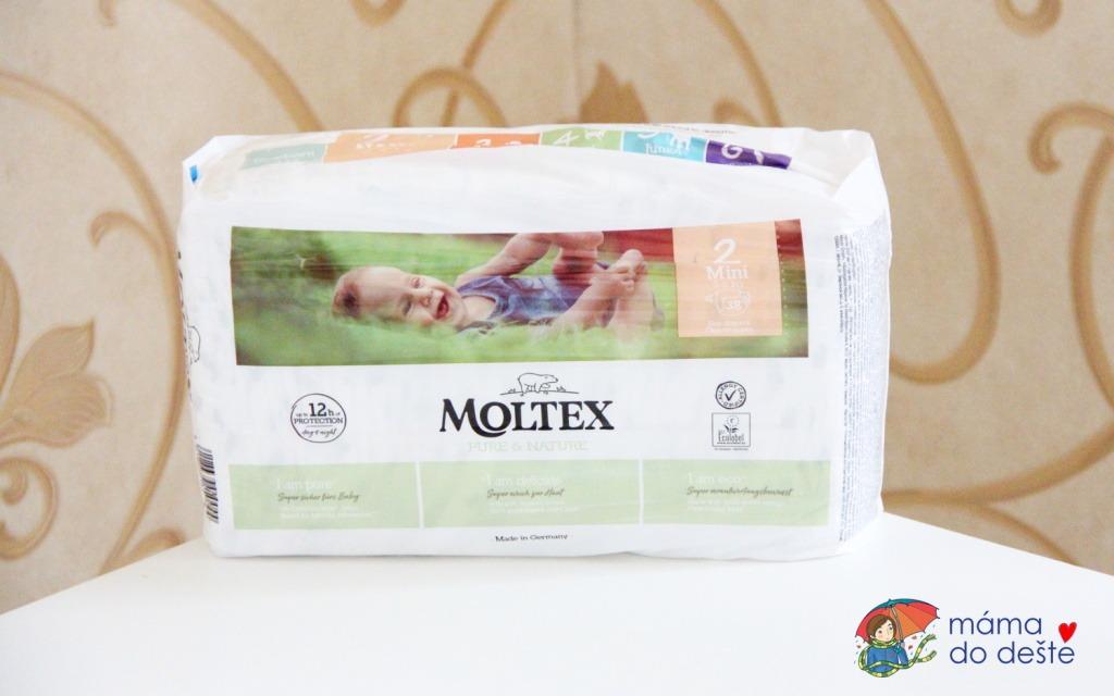 Recenze jednorázových plenek Moltex (2020)