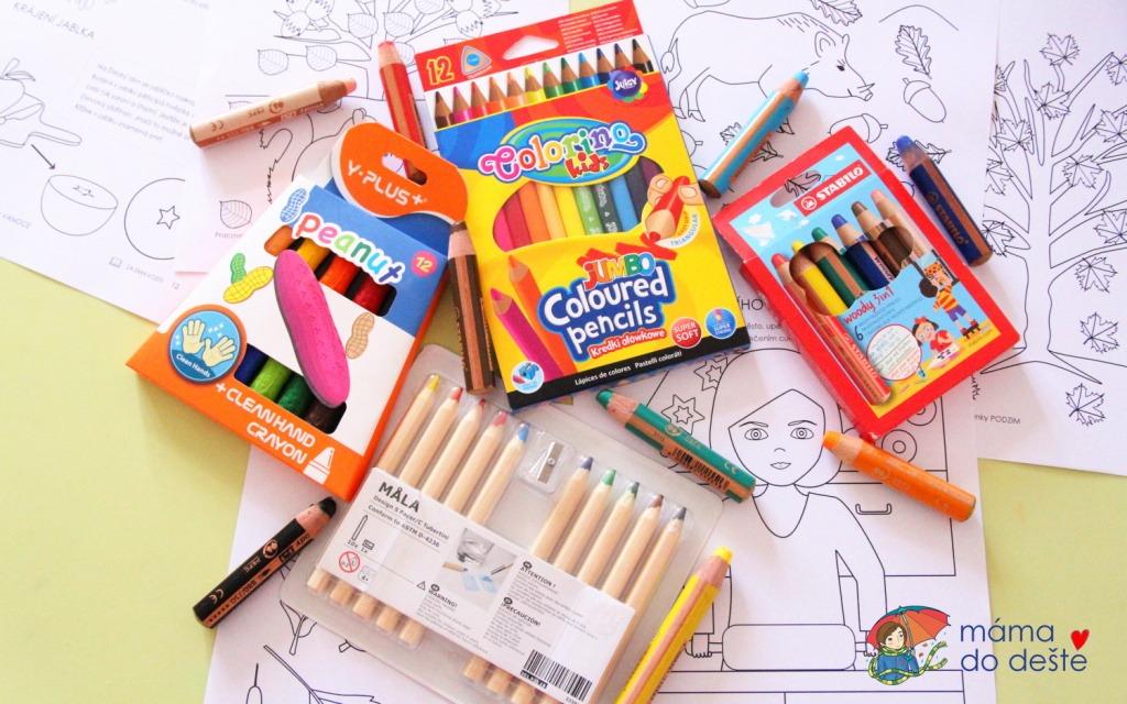 Praktické testy dětských pastelek a fixek: Které jsou nejlepší?