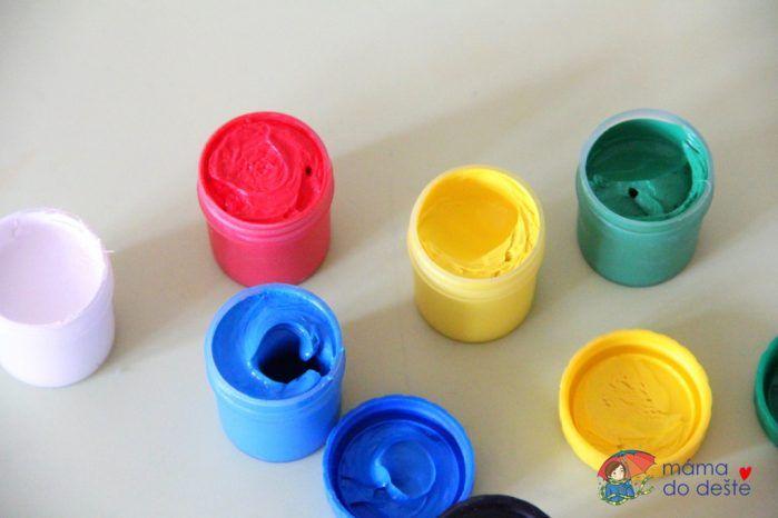 Prstové barvy Colorino