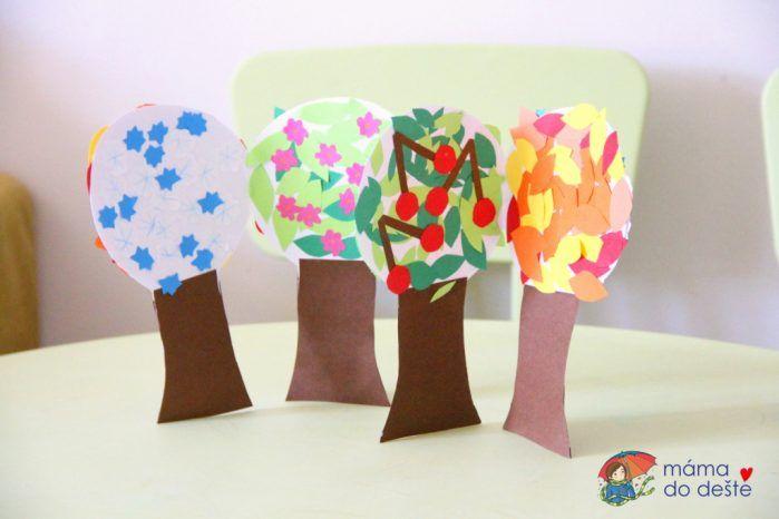 Lepený rozkládací strom: Čtvero ročních období