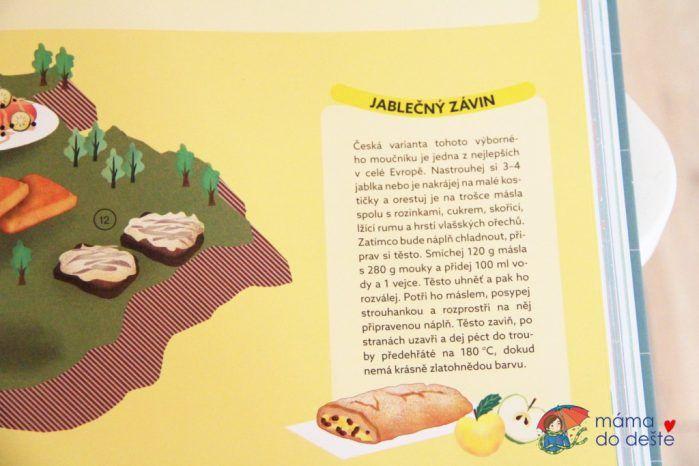 Recenze knihy Atlas jídla (Genny Gallo)