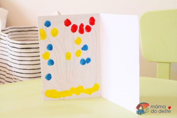 DIY narozeninové přání pro dědu (od 2,5 let)