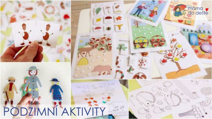 Podzimní aktivity pro děti v PDF