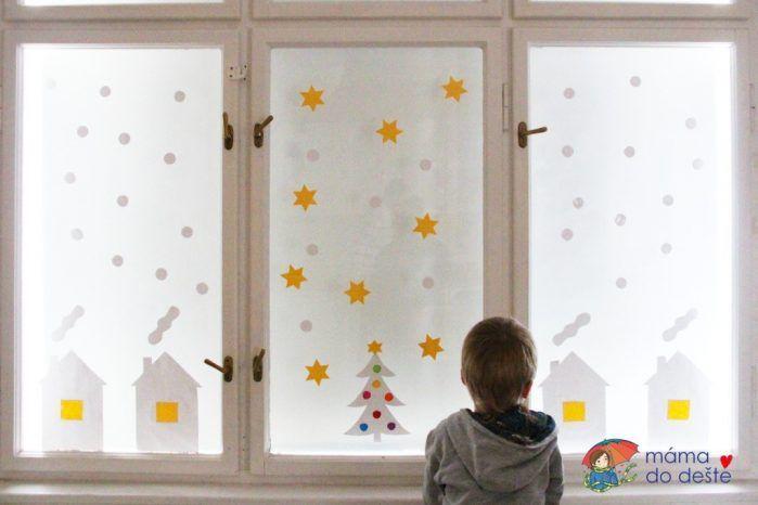 PDF zdarma: Zimní dekorace na okno