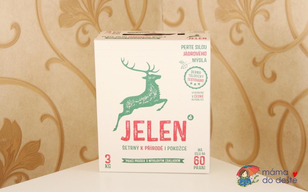 Recenze mýdlového pracího prášku Jelen