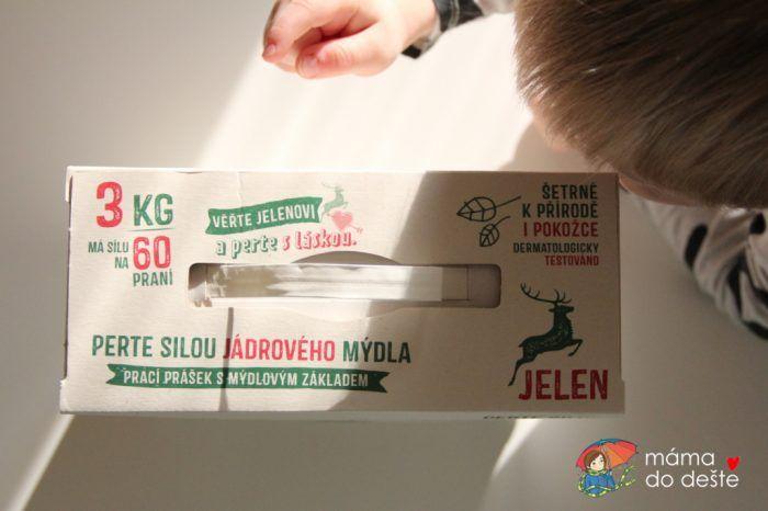 Mýdlový prací prášek Jelen