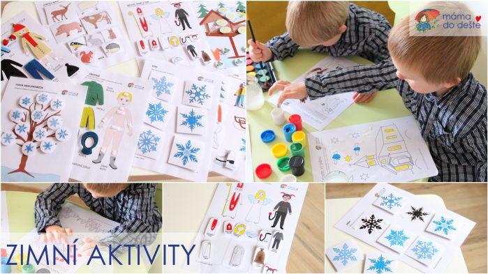 Zimní aktivity pro děti