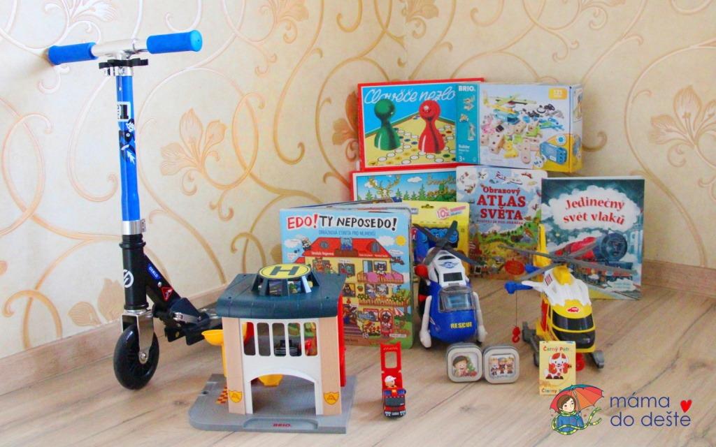 Dárky k Vánocům pro děti od 5 let