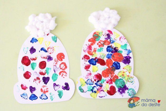 Zdobení papírové zimní čepice: Zábava pro nejmenší