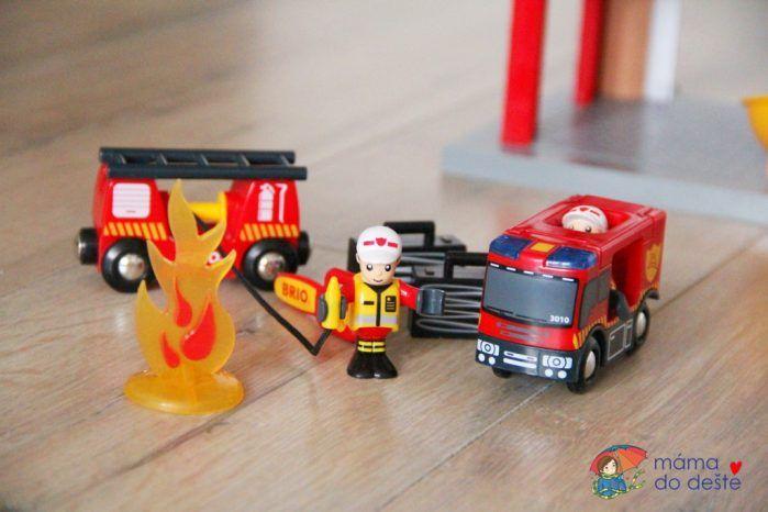 Recenze hasičské požární stanice Brio