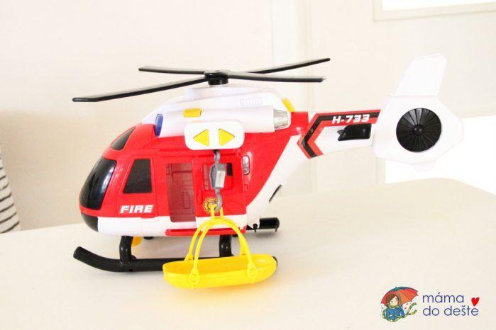 Záchranářský vrtulník Tesco Carousel