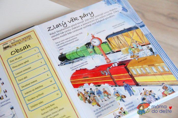 Recenze knihy Jedinečný svět vlaků (Emily Bone)