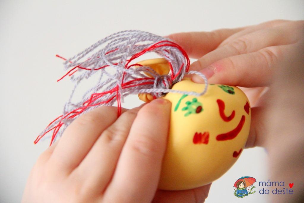 DIY antistresový míček z balónku a mouky