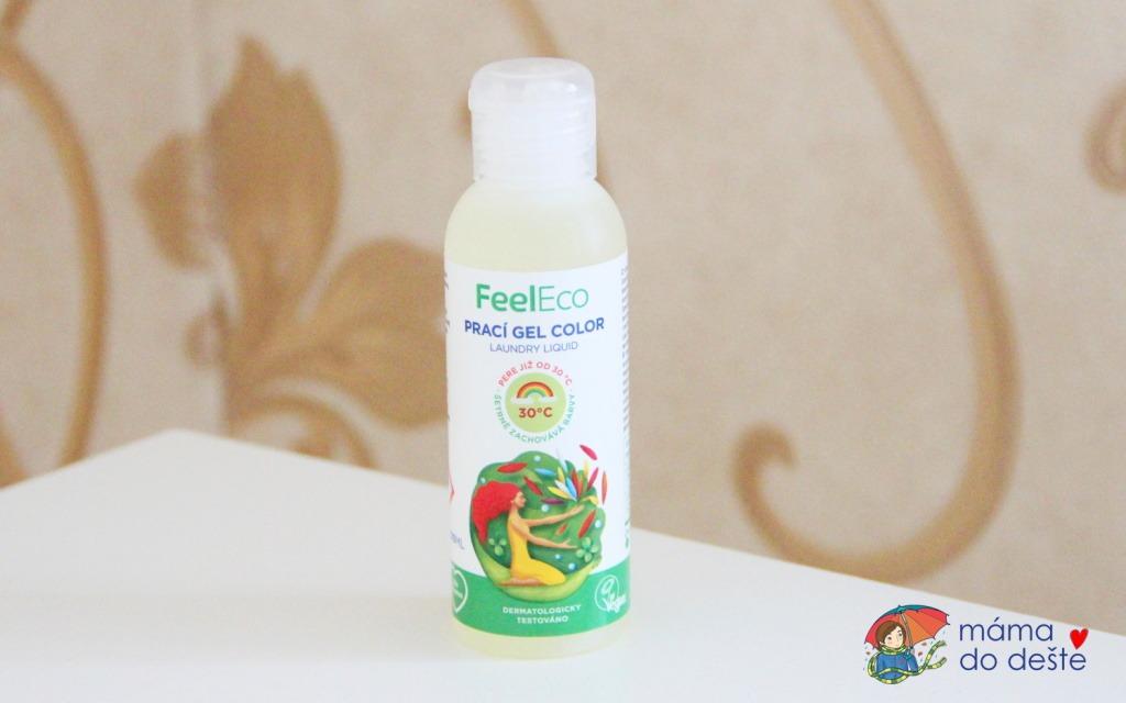 Feel Eco: Prací gel na barevné prádlo