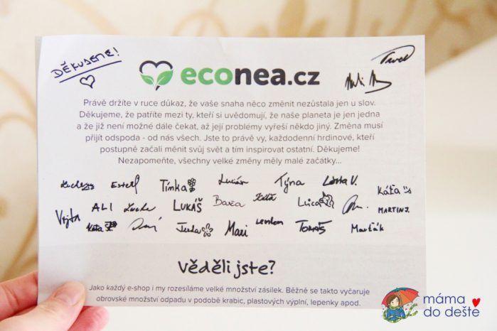 Econea: E-shop s ekologickými produkty
