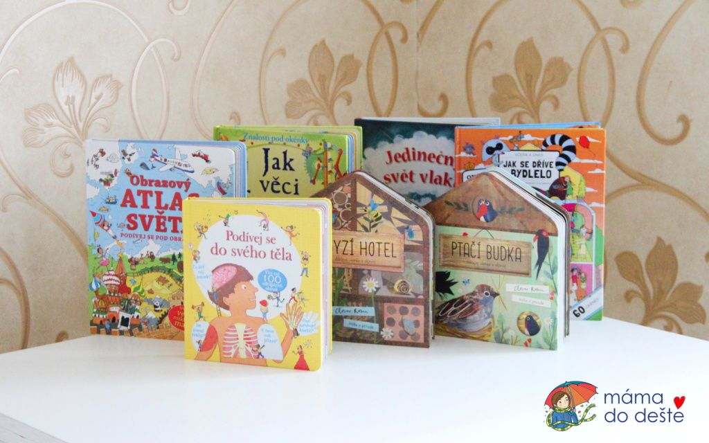 7 tipů na knihy s okénky pro děti od 5 let