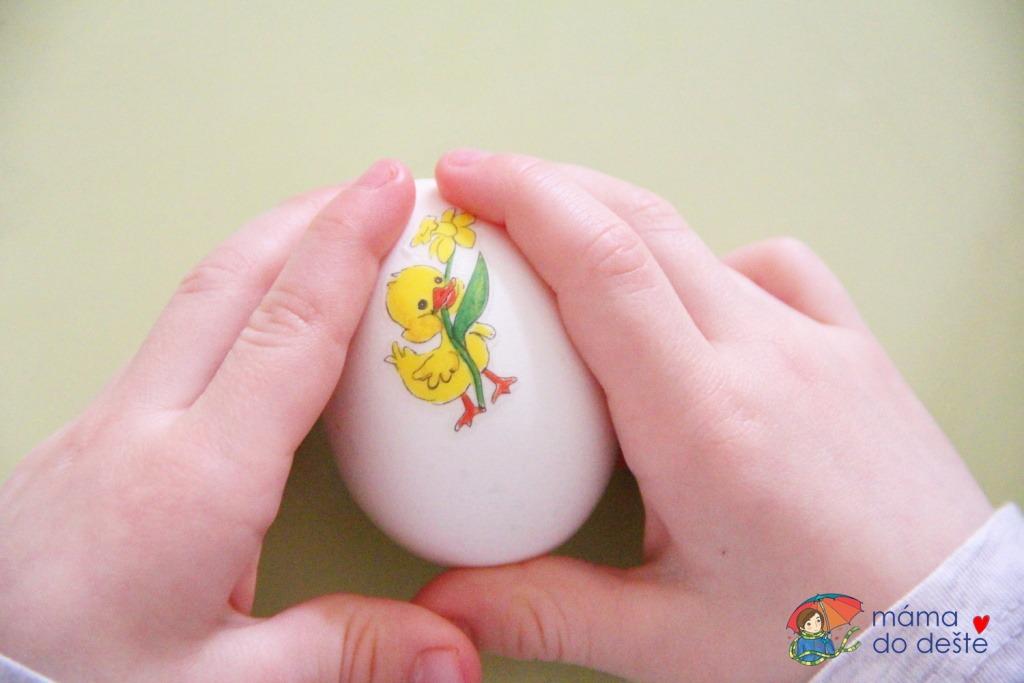 Nálepky na vejce