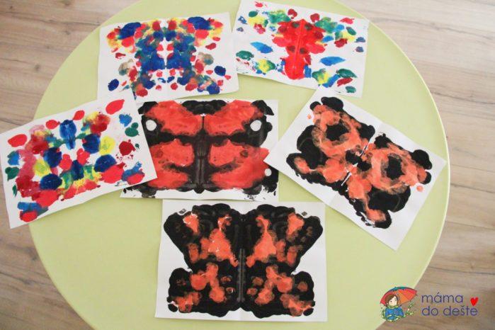 Barevní motýlci: Jarní DIY tvoření pro nejmenší děti