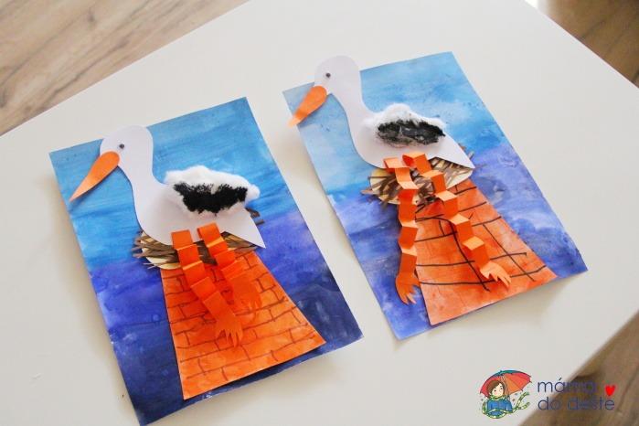 Návrat čápů: Zábavné tvoření pro děti