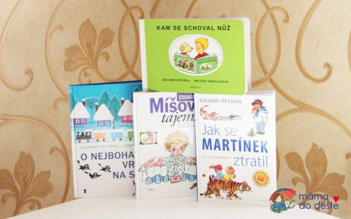 Knihy pro děti od 4 let od Eduarda Petišky