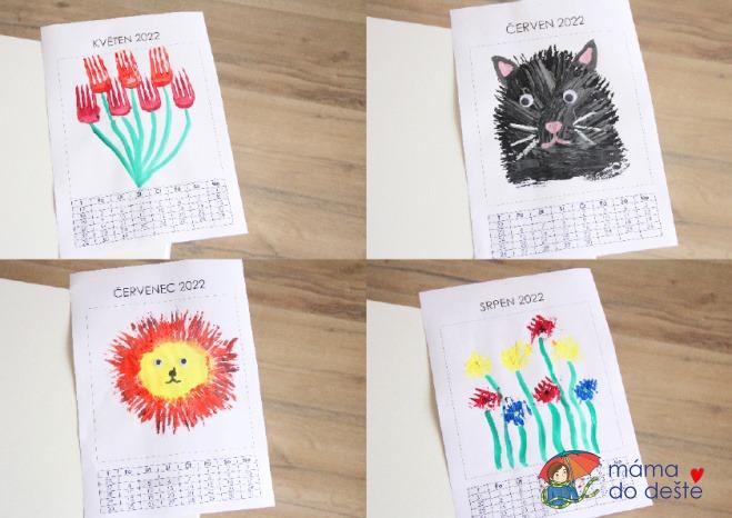 DIY Kalendář 2022: Tipy na tvorbu