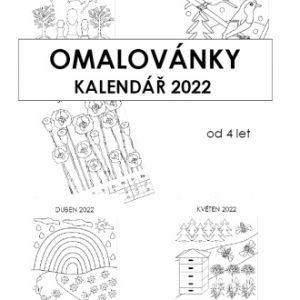 KALENDÁŘ 2022 (A4) Omalovánky od 4 let PDF