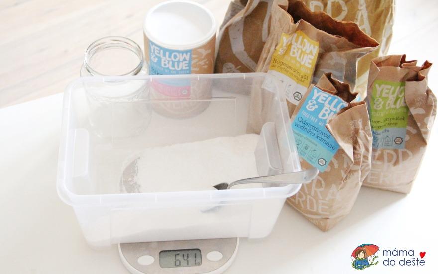 Recept na domácí ekologický prášek (tablety) do myčky na nádobí
