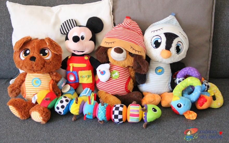 4 tipy na plyšové hračky pro miminko