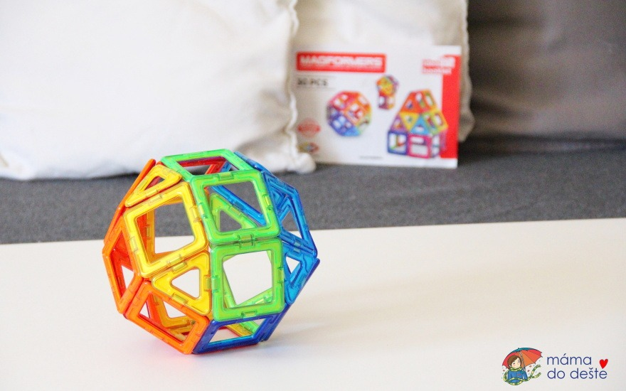 Magnetická stavebnice Magformers Rainbow: