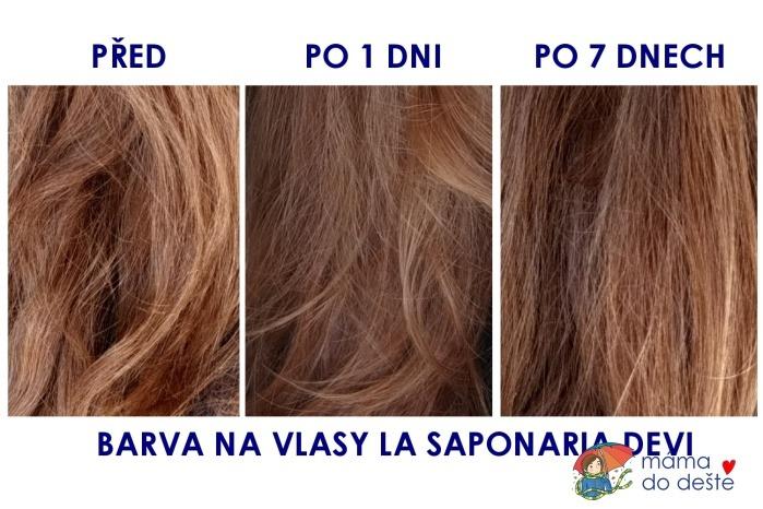 Barva na vlasy La Saponaria
