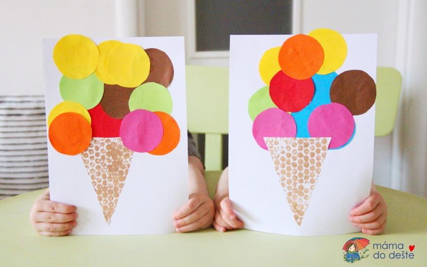 Nalep si svou vysněnou zmrzlinku