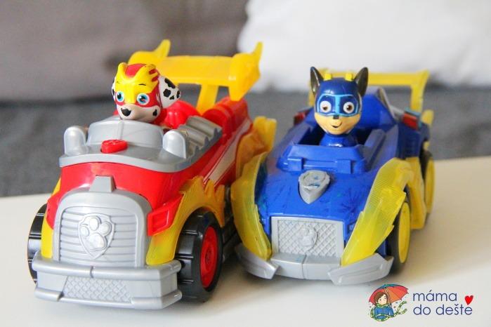 Tlapková patrola Super vozidla se světelným efektem