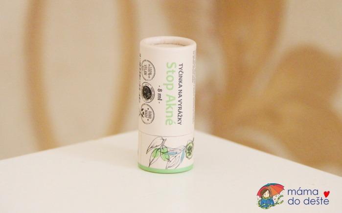 Recenze: Kvitok SOS Zinková tyčinka na pupínky a opary