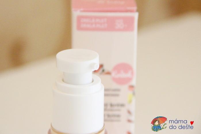 Recenze: Kvitok Denní arganový krém pro zralou pleť 30+ (30 ml) s kyselinou hyaluronovou