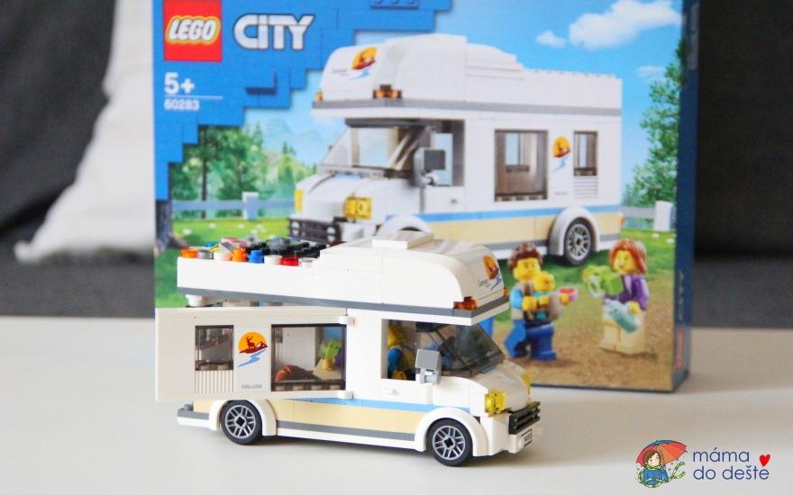 Recenze LEGO City Great Vehicles 60283 Prázdninový karavan