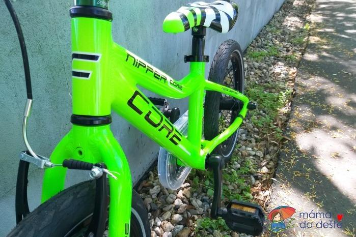 "Recenze ultralehkého kola pro děti: Core Nipper 16"" super lehké"