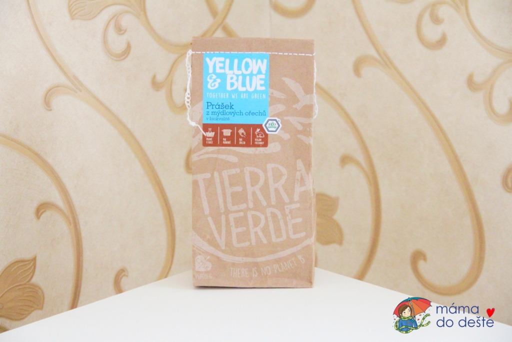 Recenze Yellow&Blue: Prášek z mýdlových ořechů