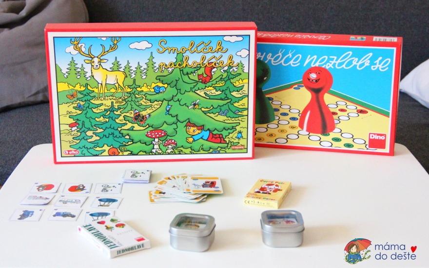 Tipy na společenské hry pro děti od 3 do 6 let