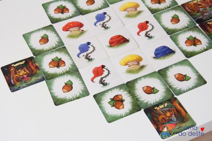 Paměťová hra pro malé děti od Albi: Veverčáci