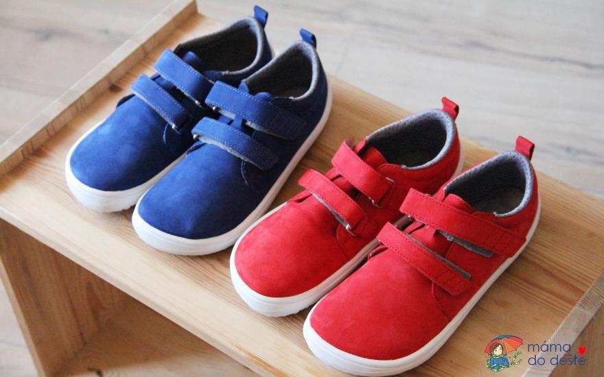 Recenze dětských barefoot bot Be Lenka Jolly