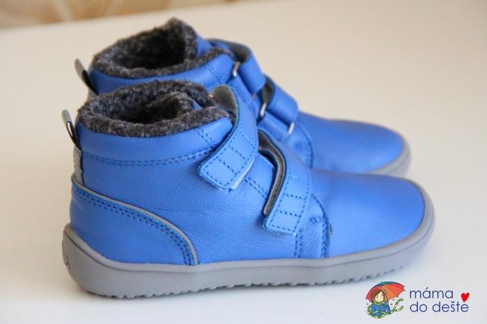 Recenze dětských zimních barefoot bot BeLenka Penguin